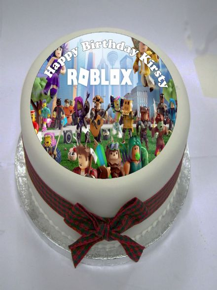Roblox Edible Cake Topper